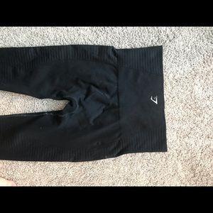 Gymshark Pants - Black Energy Seamless Gymshark Leggings